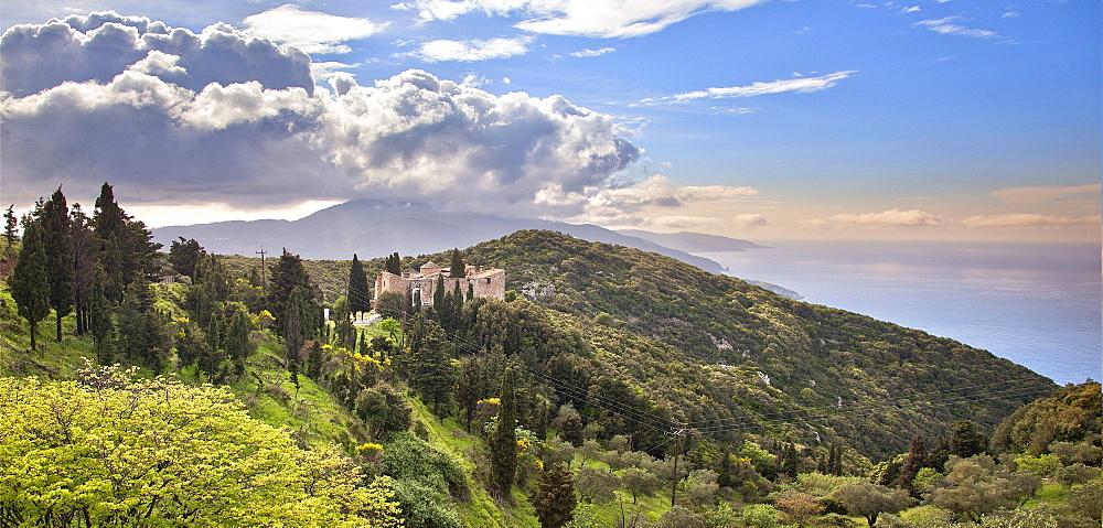 Monastery of Agia Varvara, Skopelos, Sporades Island group, Greece