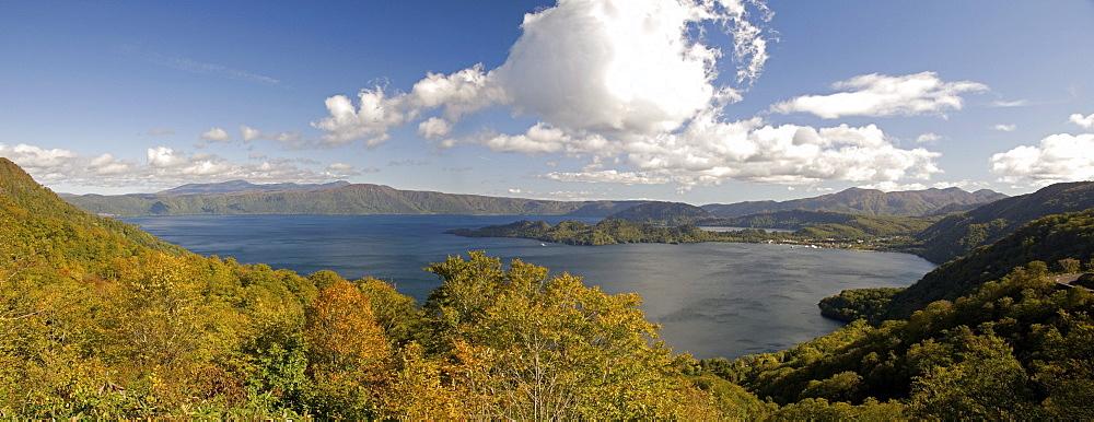 Towada-ko caldera lake, Aomori-ken, northern Honshu, Japan