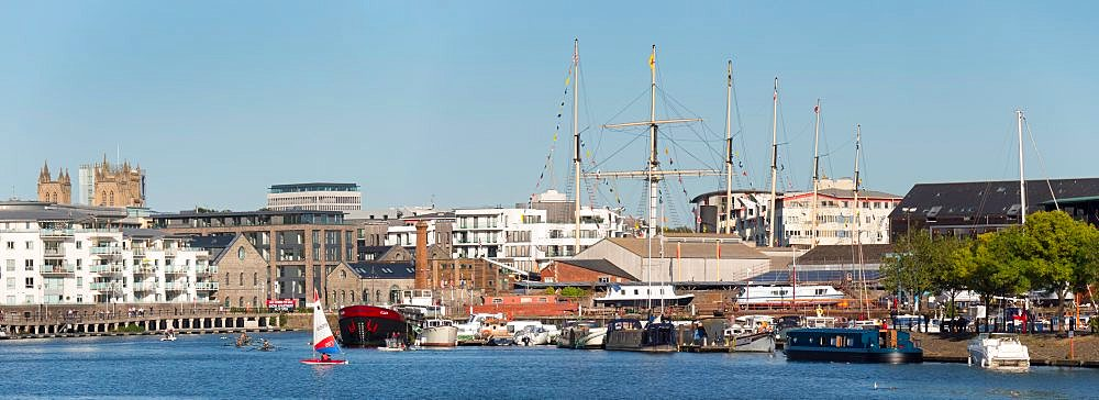 Floating Harbour with SS Great Britain - 367-6258