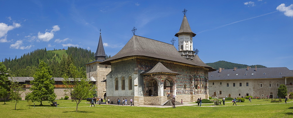 UNESCO World Heritage_Monastery_Saxon painted Church_Founded 1582_Orthodox Christian art - 385-1751