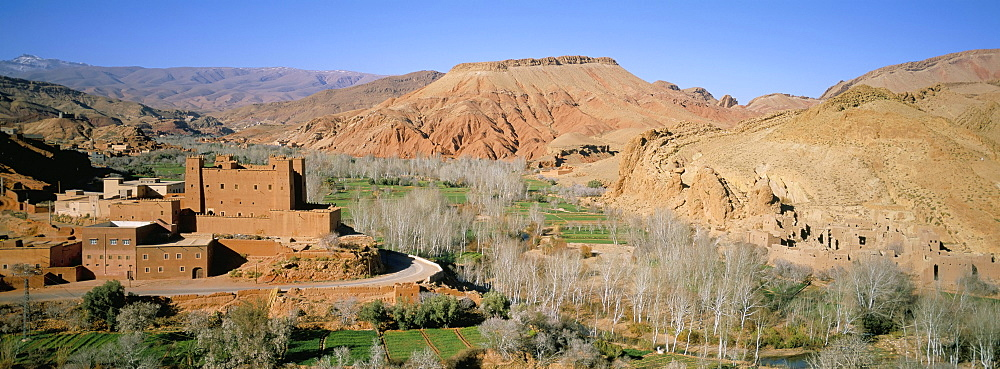 Kasbah of Ait Youl, Dades Gorge, Dades Valley, High Atlas, Morocco, North Africa, Africa