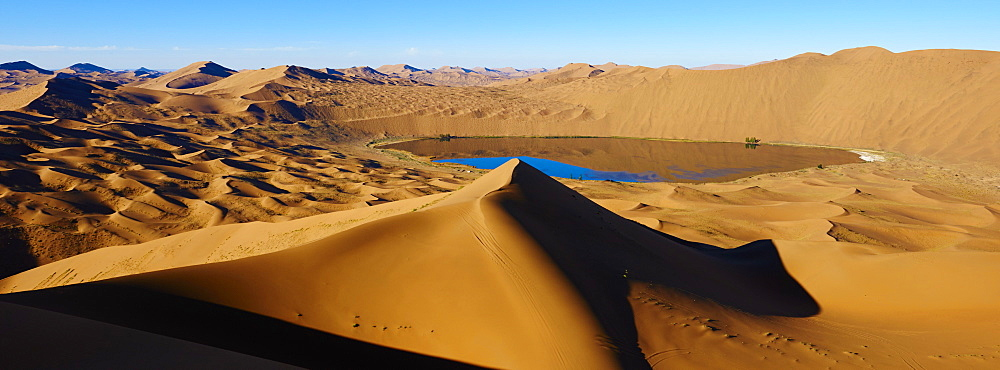 Badain Jaran Desert, Gobi Desert, Inner Mongolia, China, Asia - 712-2950