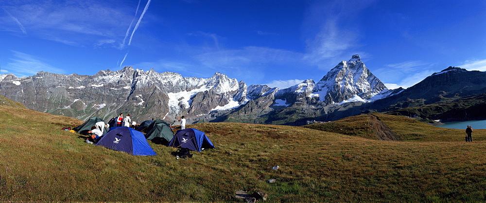 Cervino and Grand Murailles - Matterhorn mountains, Breuil-Cervinia, Valtournenche, Valle d'Aosta, Italy