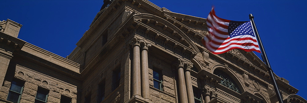 Low angle view of a courthouse, Fort Worth, Texas, USA