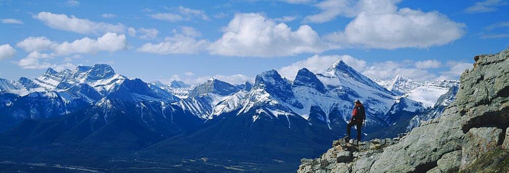Three Sisters & Bow Valley Kananaskis Co Alberta Canada