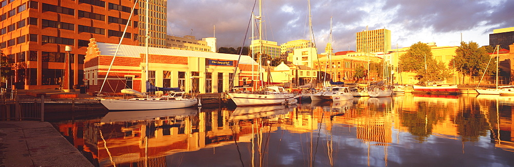 Waterfront, Hobart City, Tasmania, Australia