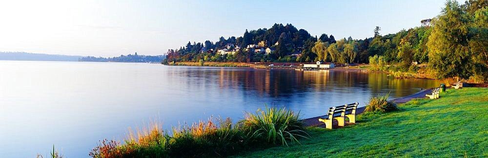 Lake Washington Mount Baker Park Seattle WA