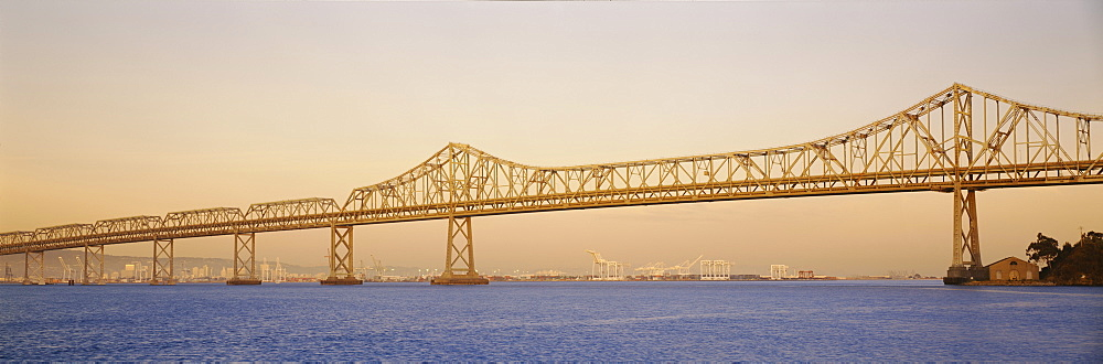 Low angle view of a bridge, Bay Bridge, California, USA - 752-1697