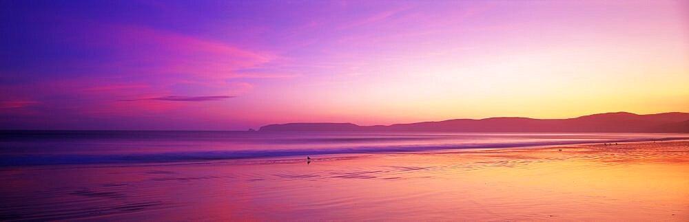 Sunset Point Reyes National Seashore CA USA