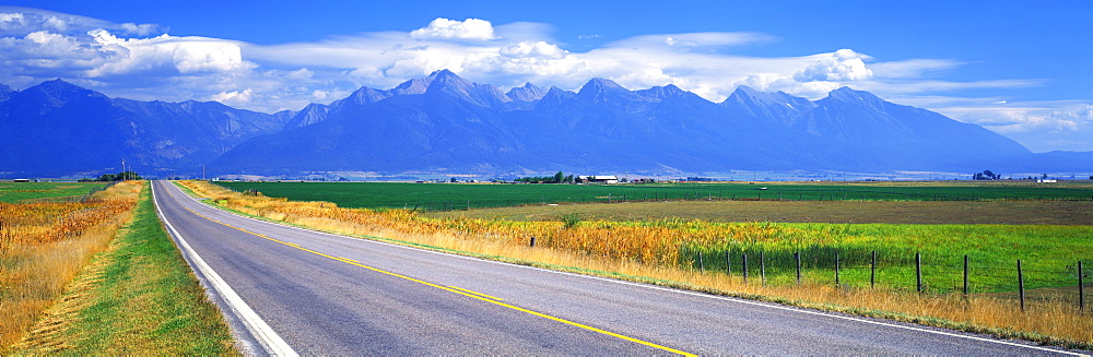 Highway 212 Mission Mountains Flathead Valley MT