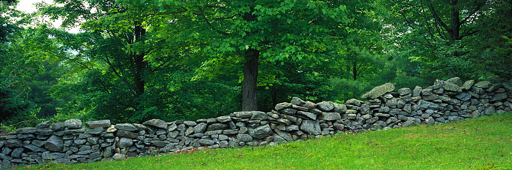 Stone Wall Weston VT USA