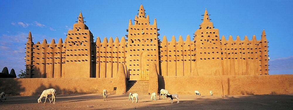Konboro Mosque Mali Africa