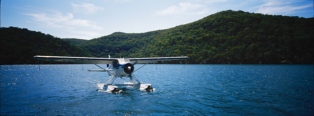 Sea plane on water, Australia, Pacific - 812-134