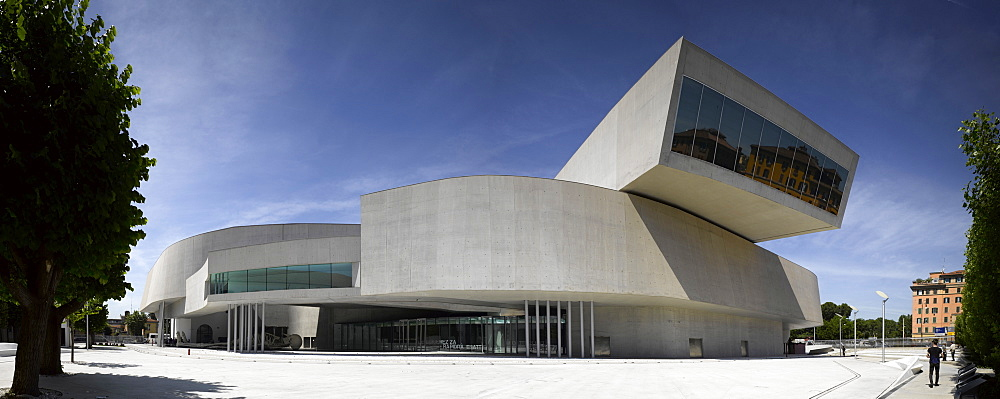 The MAXXI, National Museum of 21st Century Arts, architect Zaha Hadid, Rome, Lazio, Italy, Europe - 815-2278