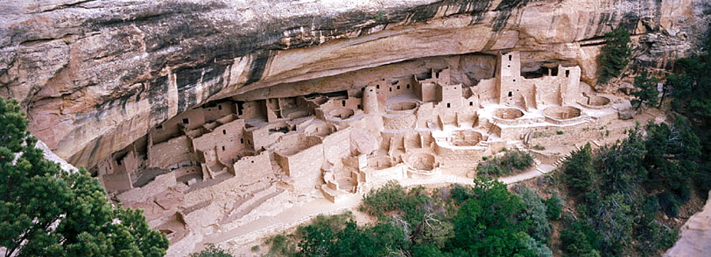 Anasazi cliff Palace, Mesa Verde National Park, Colorado, USA