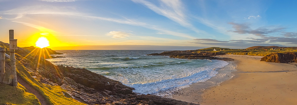 Clachtoll Beach, Clachtoll. Sutherland, Highlands, Scotland, United Kingdom, Europe