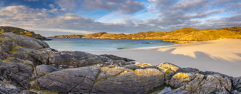 UK, Scotland, Highland, Sutherland, Achmelvich, Achmelvich Beach - 828-1070