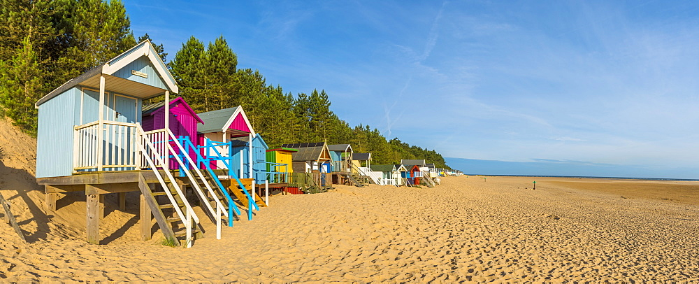 Wells-next-the-Sea Beach, North Norfolk, England, United Kingdom, Europe