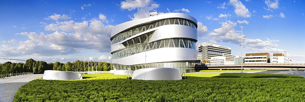 Mercedes Benz Museum, Stuttgart, Baden-Wuerttemberg, Germany, Europe