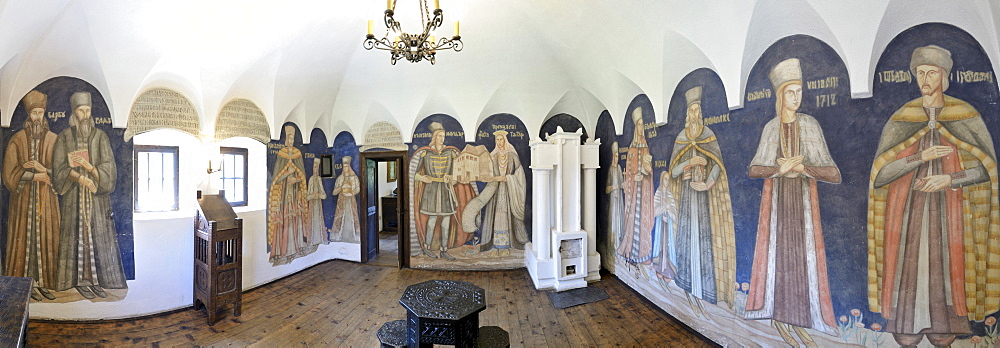 Oltenian Bojarenhaus, noble house, Horezu Open-air Museum, Romania, Europe