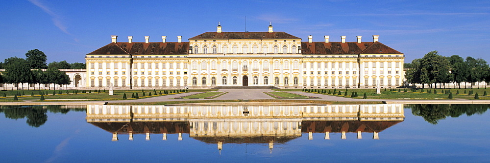 New castle, Neues Schloss, Oberschleissheim, Upper Bavaria, Germany, Europe