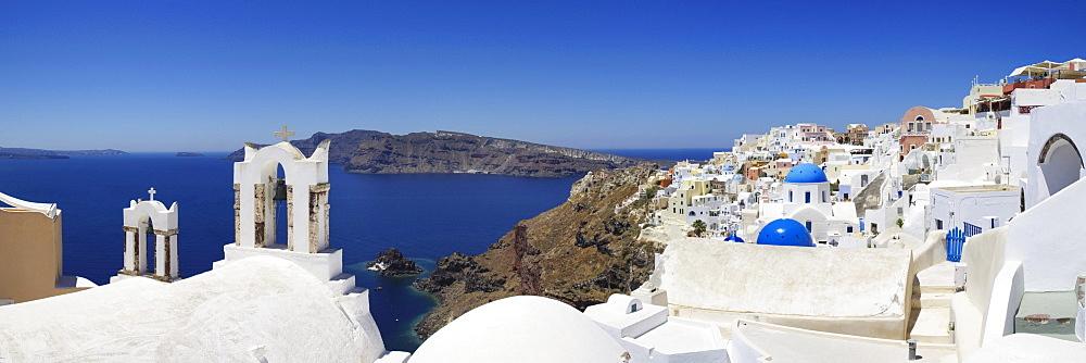 Oia, Santorini, Cyclades, Greece, Europe