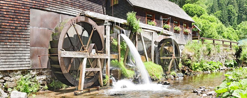Hexenlochmuehle, mill, near Furtwangen, Black Forest, Baden-Wuerttemberg, Germany, Europe