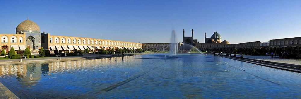 Meidan-e Emam, Naqsh-e Jahan, Imam Square, UNESCO World Heritage Site, Esfahan, Isfahan, Iran, Persia, Asia