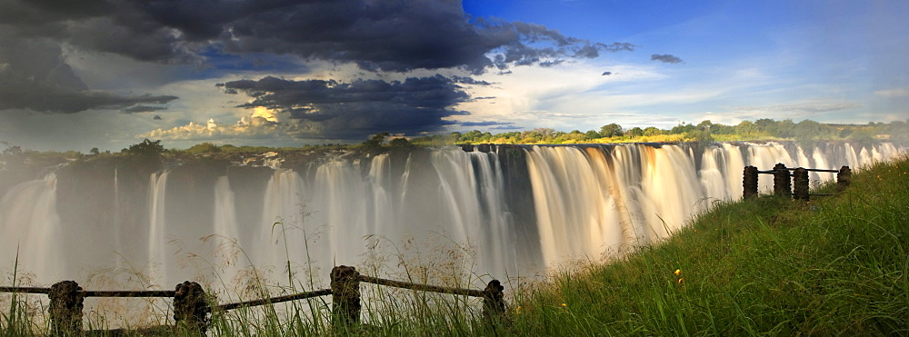 Victoria Falls, rainbow, Zimbabwe, Africa