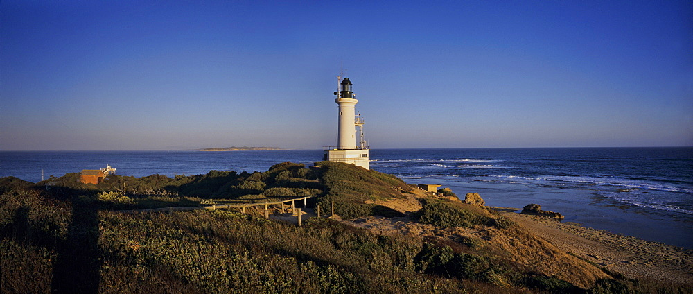 Lighthouse at the Melbourne bay, Australia
