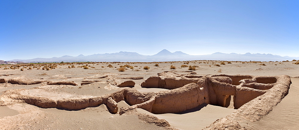 Ruins of Tulor, an ancient Atacamenos village, San Pedro de Atacama, Region de Antofagasta, Chile, South America