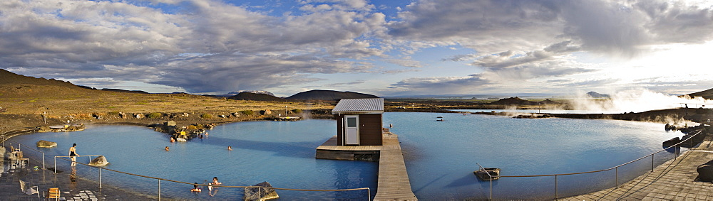 Myvatn Pool (Jarboein vi M˝vatn), Myvatn, northern Iceland, Iceland, Atlantic Ocean