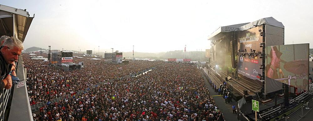 Rock am Ring 2008, music festival, Nuerburgring, Rhineland-Palatinate, Germany, Europe