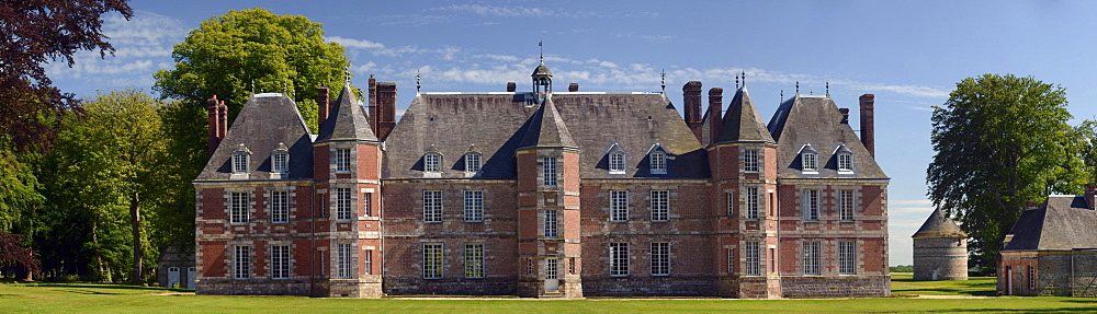 Ch√¢teau de Janville palace, Haute-Normandie, France, Europe