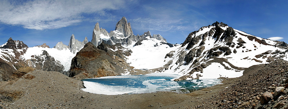 Panorama in the Los Glaciares National Park, Patagonia, Argentina, South America