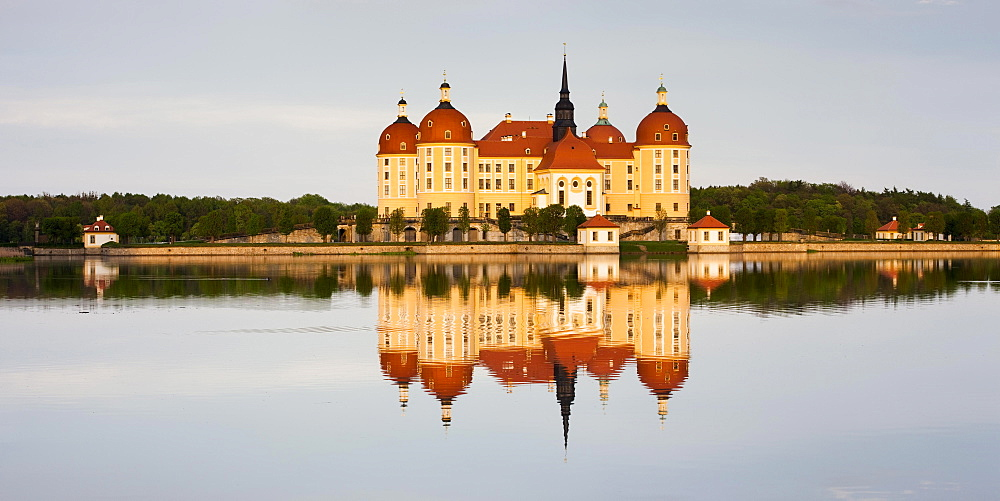 Moritzburg Castle, Dresden, Saxony, Germany, Europe