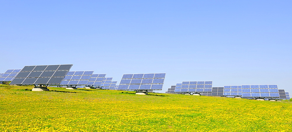 Photovoltaic system, solar panels