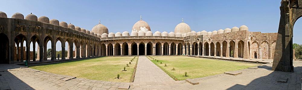 Prayer hall, mosque, Jama Masjid, Mandu, Madhya Pradesh, North India, India, Asia