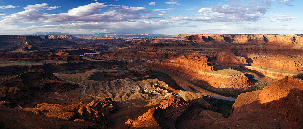 Dead Horse Point Overlook at dawn, Utah, United States of America, North America