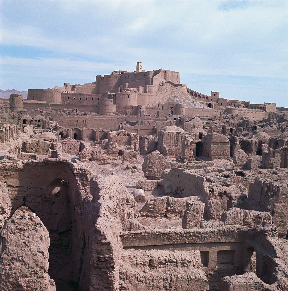 Citadel, Bam, before the earthquake in 2003, Iran, Middle East