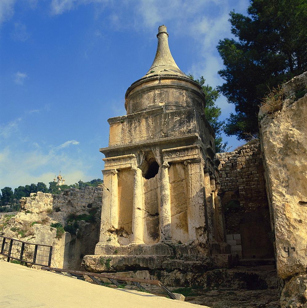 Temple, Mount of Olives, Jerusalem, Israel, Middle East