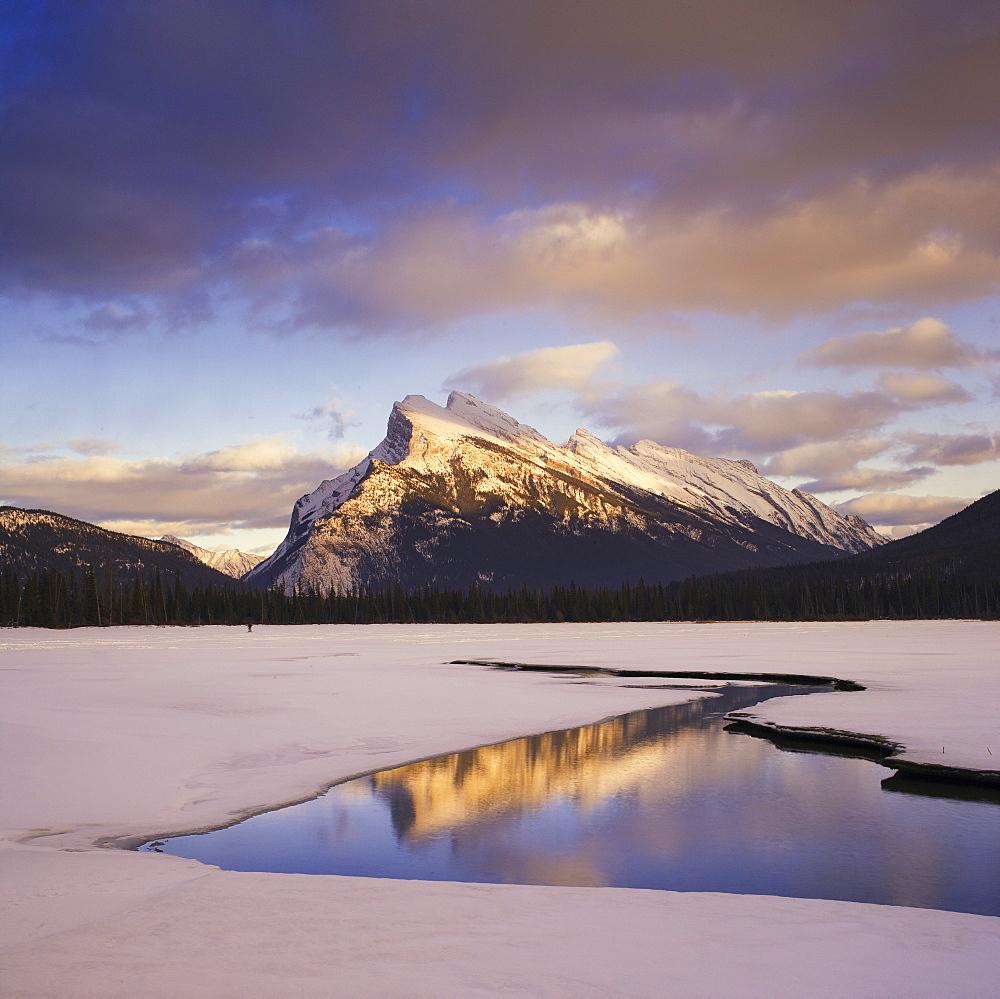 Vermilion Lake and Mount Rundle, Banff National Park, Alberta