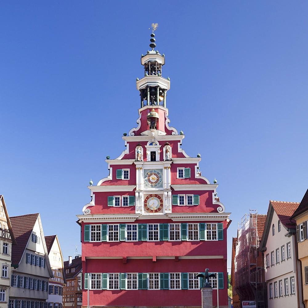 Old town hall, Esslingen (Esslingen-am-Neckar), Baden-Wurttemberg, Germany, Europe