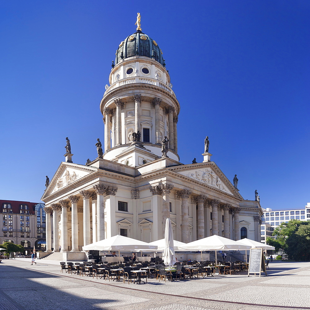 Deutscher Dom (German Cathedral), Gendarmenmarkt, Mitte, Berlin, Germany, Europe