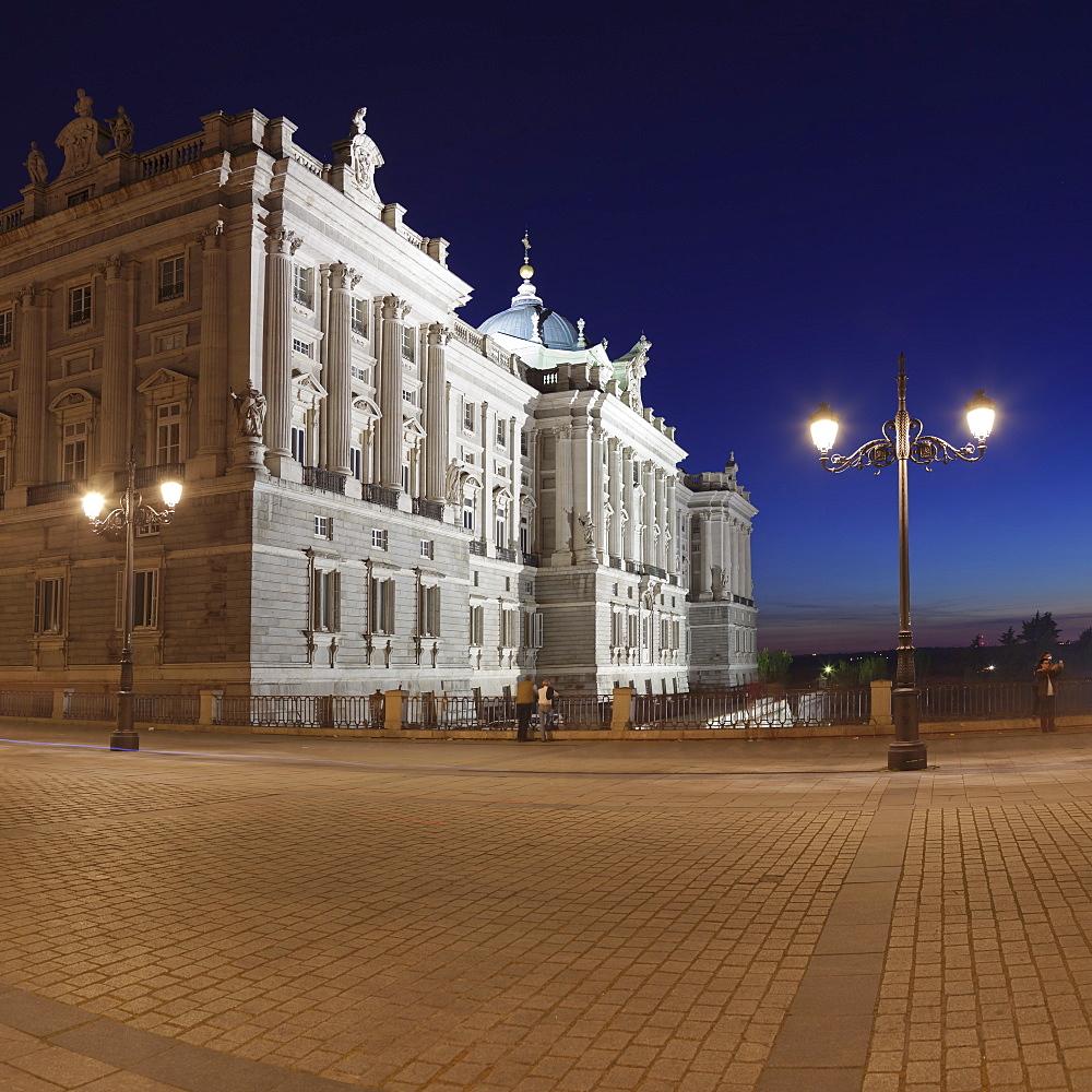 Royal Palace Palacio Real, Madrid, Spain