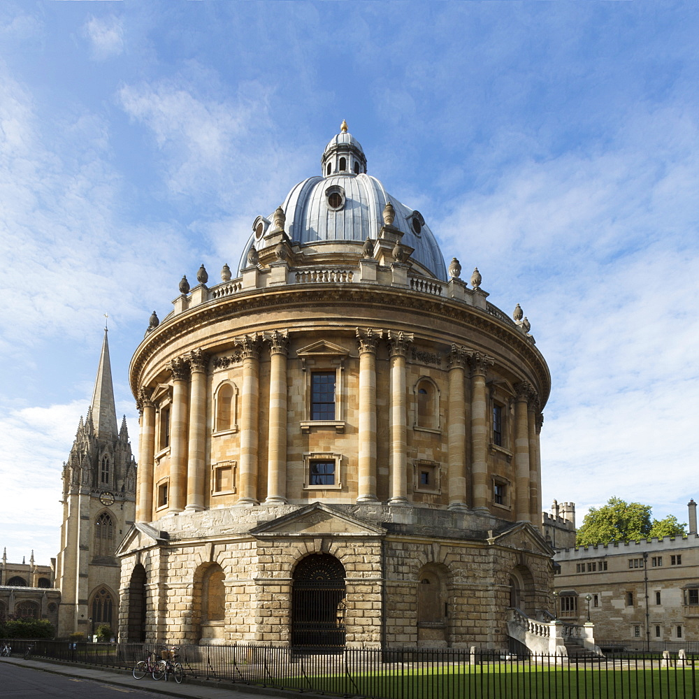 The Radcliffe Camera by James Gibbs, Oxford University, Oxford, Oxfordshire, England, United Kingdom, Europe - 1176-803