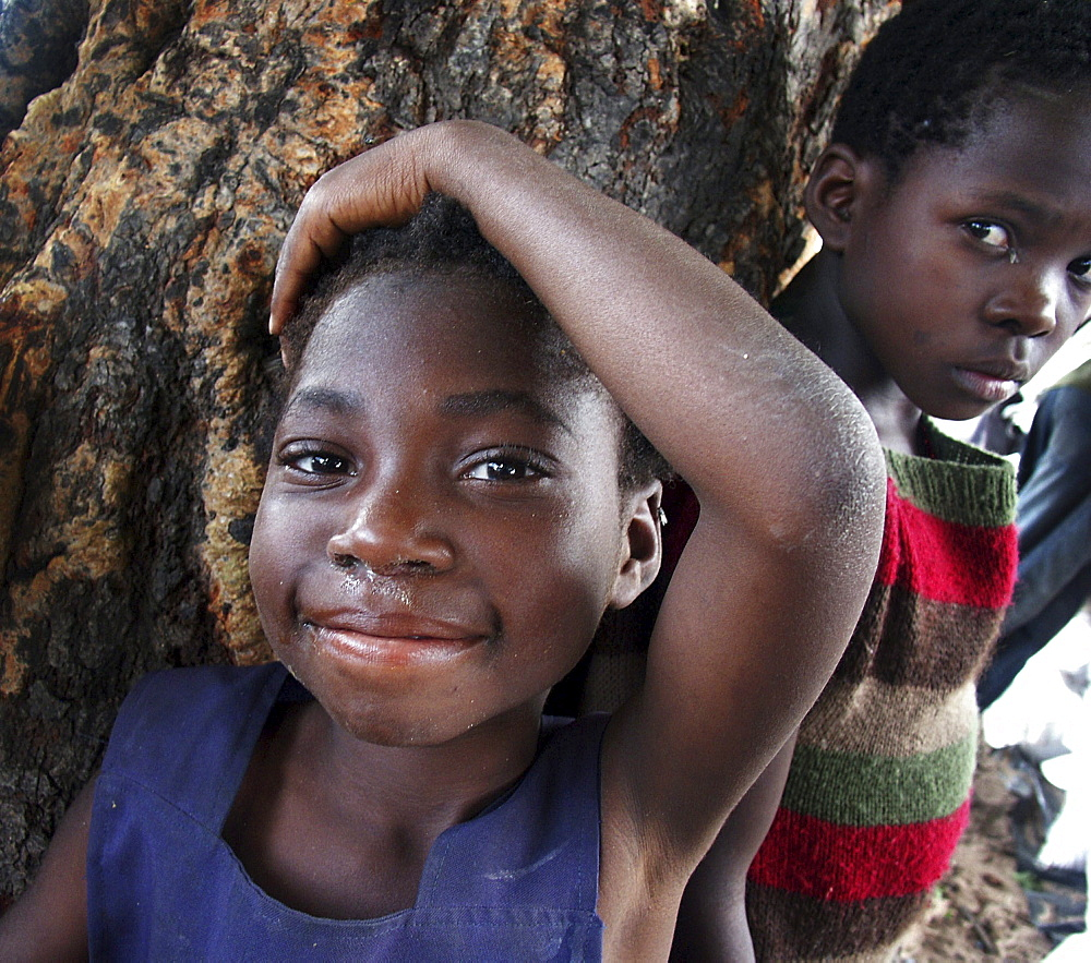 Zambia children of mongu