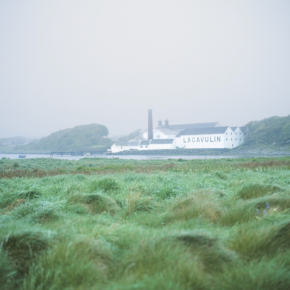 Lagavulin Whisky distillery, Isle of Islay, Inner Hebrides, Scotland, United Kingdom, Europe