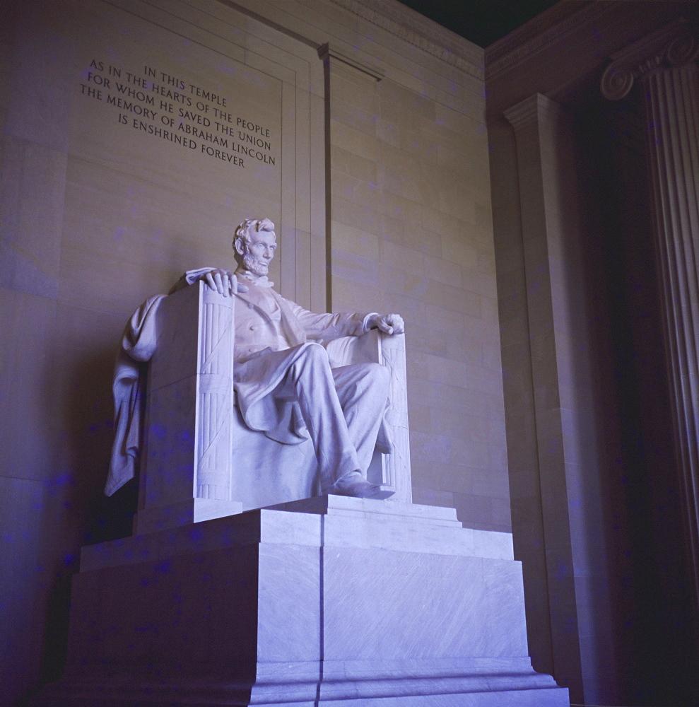 Lincoln Memorial, Washington D.C, USA, North America