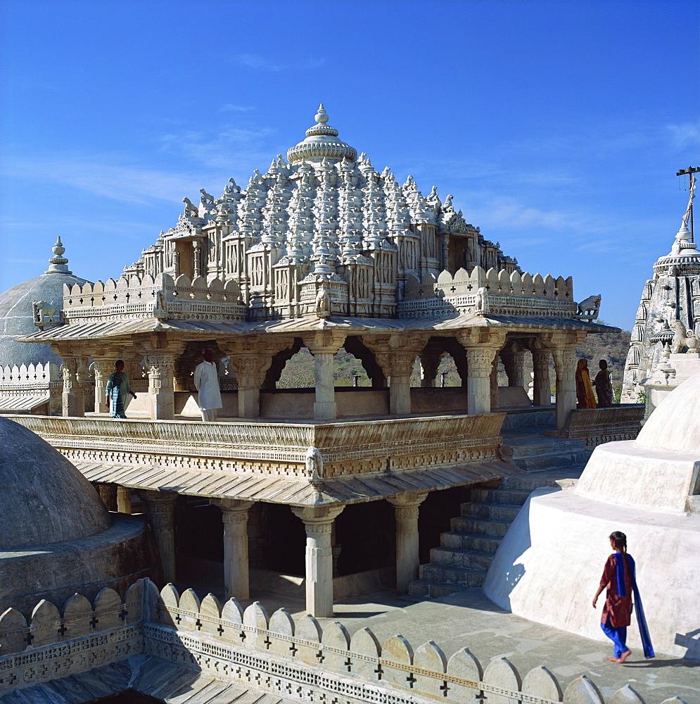 Jain Temple, Ranakpur, India, Asia - 136-258